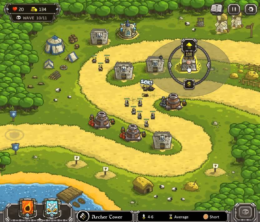 kingdom rush level 3