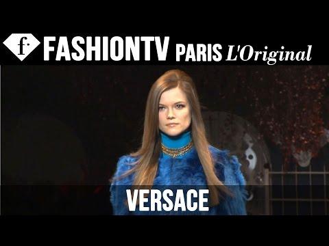 Versace Fall/Winter 2014-15 FIRST LOOK | Milan Fashion Week | FashionTV