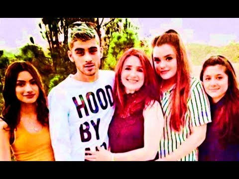 Zayn Malik With Family & Mother Father & Sisters & Girlfriends