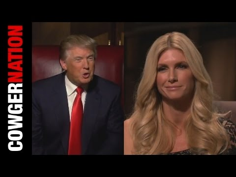 Donald Trump tells Brande Roderick being on her knees is a pretty picture.