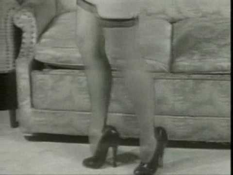 Bettie Page - Betty and her High Heel Shoes Video