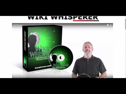 Wiki Whisperer Review - Simple But Effective And How To Make It Better!