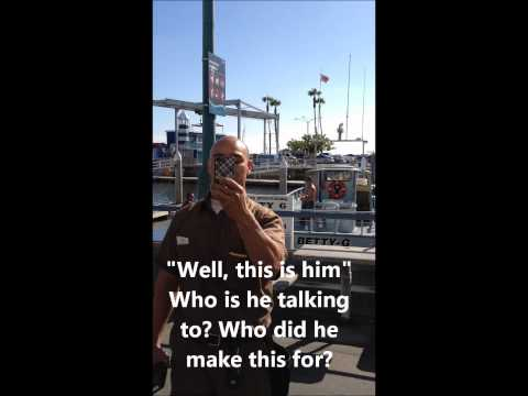 Redondo Beach UPS driver gets a complaint, so he gives out customer name and address in public