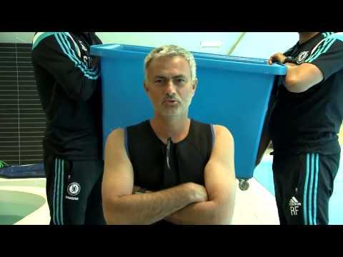 Best of Ice Bucket Challenge | Jose Mourinho accepts Didier Drogba Ice Bucket Challenge