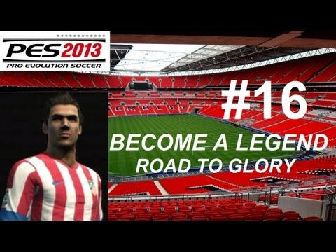PES 2013 BECOME A LEGEND Road to Glory #16 (Porto vs Atletico Madrid OdF)