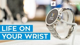 Android Wear OS Hands-On Review: Tiles And More New Features