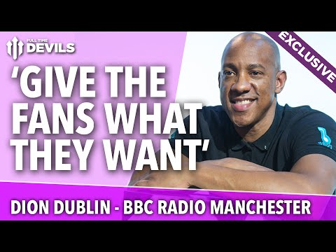 Dion Dublin on Louis van Gaal, Scholes, Rio and More! | with BBC Radio Manchester