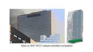 Actual video of WTC 7 destruction undermines NIST computer simulation   YouTube