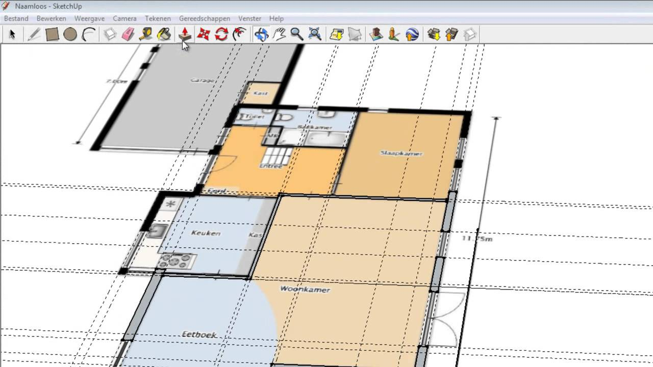 how to put something from sketchup to layout