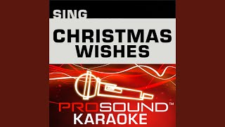 Merry Christmas Happy Holidays Karaoke With Background Vocals In The Style Of N Sync