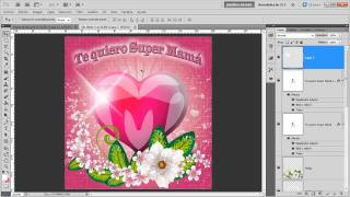 Tutorial Photoshop: Día de la madre