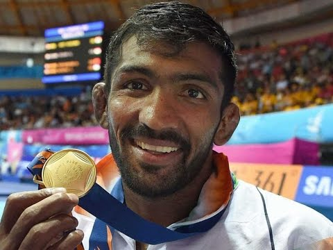 Yogeshwar Dutt Wins Gold Medal for India after 28 years at Asian Games wrestling
