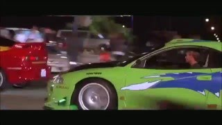 The Fast and the Furious (First Race Clip) - face replacement (AE)