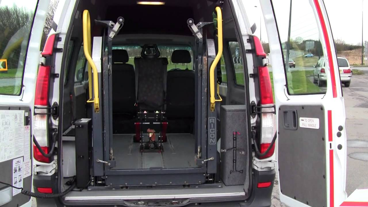 Mercedes Vito Van For Sale With Wheelchair Lift Sold Youtube