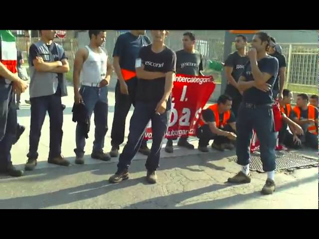 Presidio e sciopero alla TNT di Piacenza  4