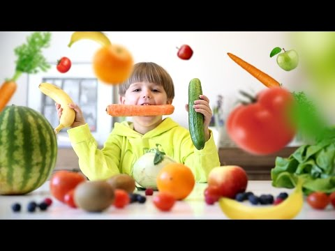 Fresh Food Challenge - Fruits & Vegetables​​​