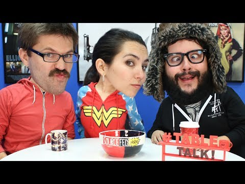 Board Games, Dad Jokes, and the SourceFed Cookbook! #TableTalk