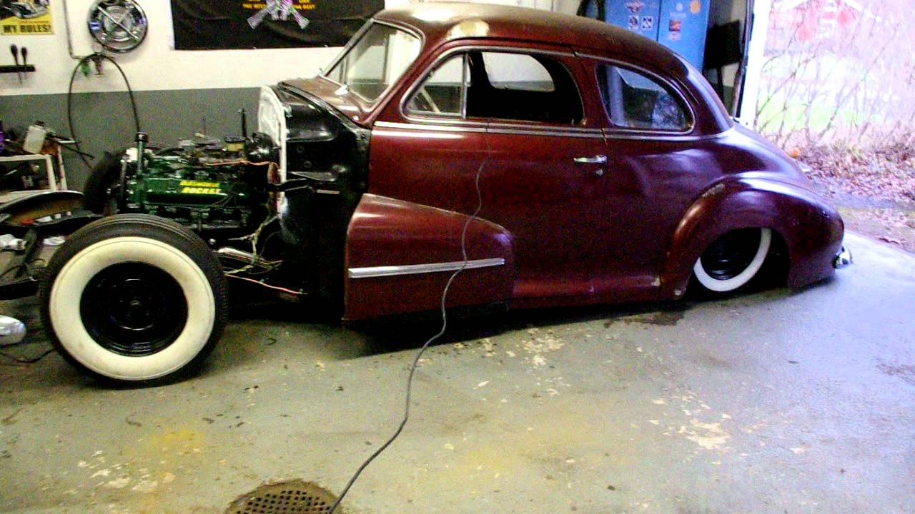 47 Olds Coupe Youtube