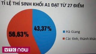 Điểm thi ở Hà Giang có vấn đề? | VTC Now