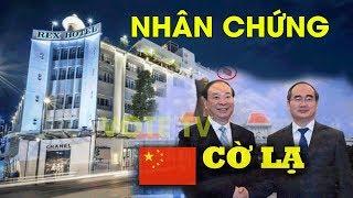 Phỏng vấn người chứng kiến Nguyễn Thiện Nhân che quốc kỳ tại khách sạn Rex #VoteTv