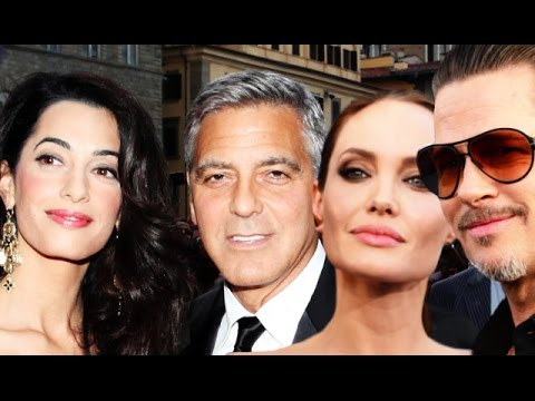 Brad Pitt & Angelina Jolie Blow Off George Clooney Wedding