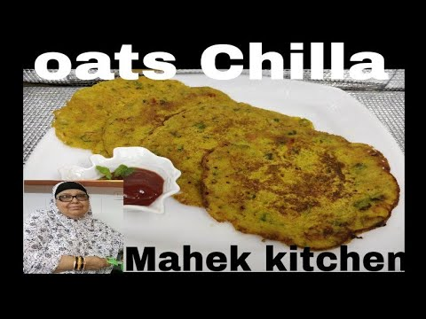 Oats Chilla easy breakfast recipe for weight loss