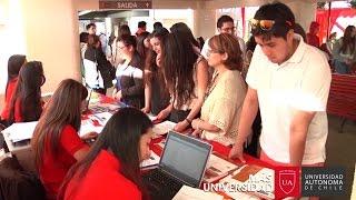 Matrículas 2016 - Proceso de elección de carreras - Universidad Autónoma de Chile, Talca