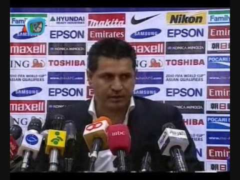 Ali Daei Post-Match Interview after Saudi game 1/2