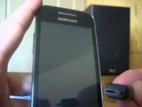Samsung S5830 ACE Download mode Micro USB UNBRICK