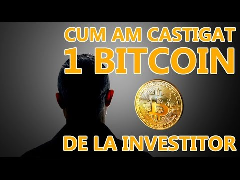 CUM AM CASTIGAT 1 BITCOIN