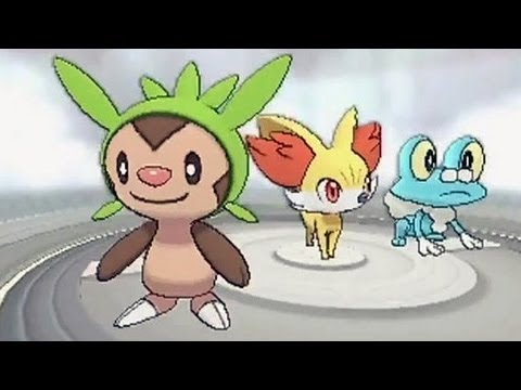 Pokémon X/Y - Test-Video zum 3DS-Pokémon