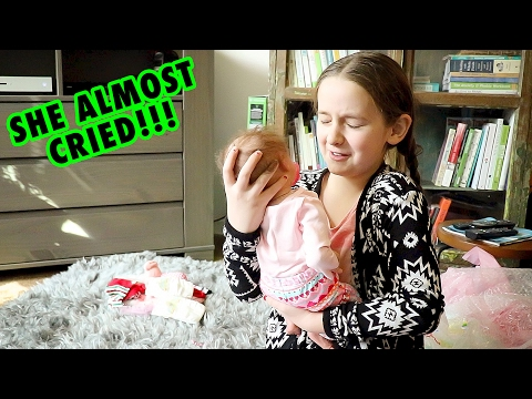 Real Reborn Baby Unboxing Madison Gets a LIFELIKE Reborn BABY Doll thumbnail