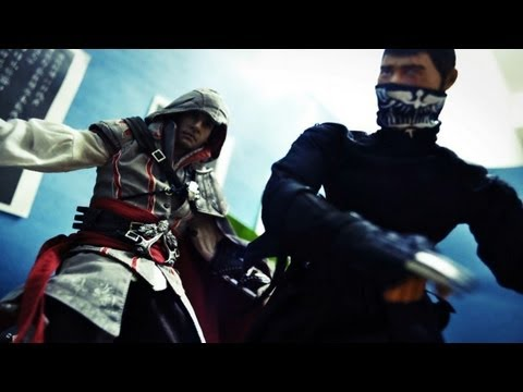 Assasin Creed Stop Motion - Assasin VS Ninja 刺客教條