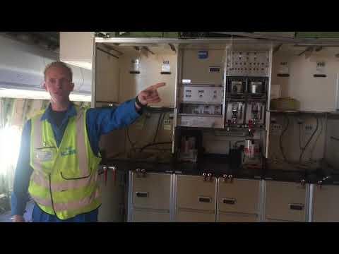Vlog van student Landstede over vliegtuig KLM