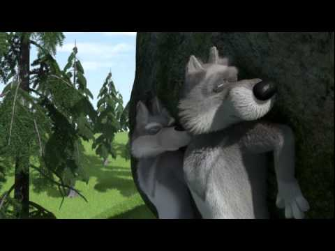 Маша и медведь 7. С волками жить...