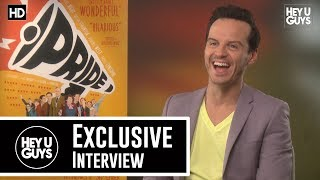 Andrew Scott Interview - Pride