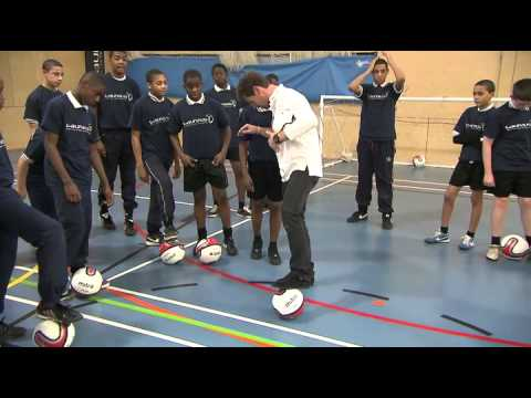 Tottenham Hotspur's Andre Villas-Boas Launches New Research At Football Master-Class In South London