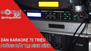 [Bảo Châu Elec] Lắp đặt bộ dàn karaoke kinh doanh chuyên nghiệp 70 triệu