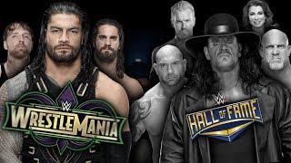 WWE Wrestlemania 34 - Dream Match Card