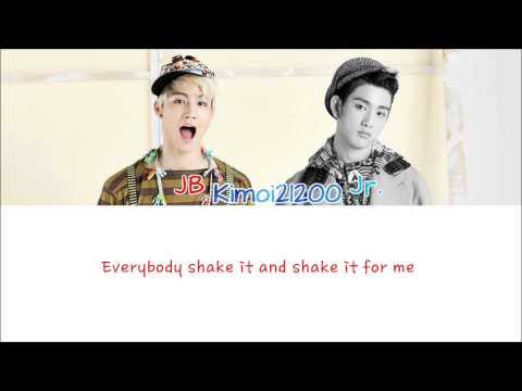Jj Project - Bounce [hangul romanization english] Color & Picture Coded Hd video