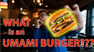 WHAT IN THE WOLD IS AN UMAMI BURGER??? | Food Dude Ep.2