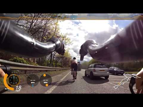 20150430 From Wobble to Aero: Cycling around Manchester with Nick