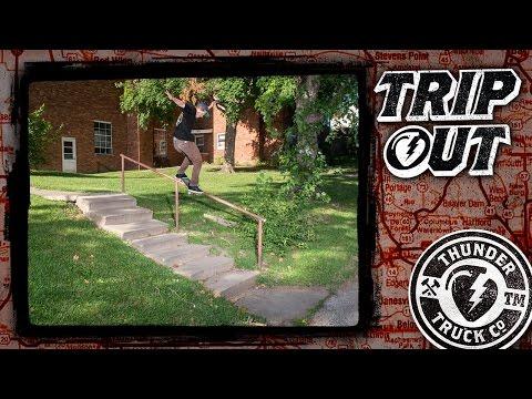THUNDER TRUCKS : TRIP OUT : JT Aultz, Jack Olson, Tyson Bowerbank