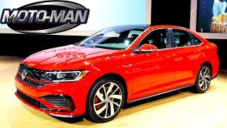 2019 VW Jetta GLI TECH REVIEW @ 2019 Chicago Auto Show #CAS19