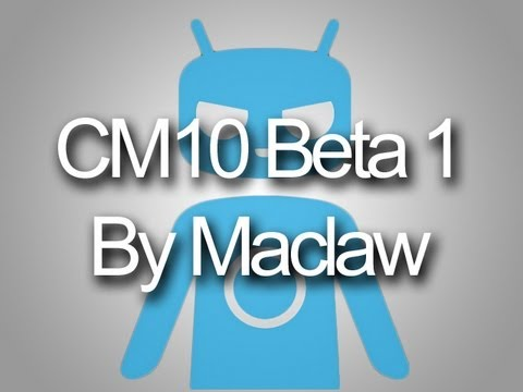 CyanogenMod 10 Beta 1 JellyBean 4.1.1 for Galaxy Ace