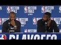James Harden & Chris Paul Postgame Interview - Game 4 | Rockets vs Warriors | 2018 NBA West Finals thumbnail