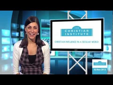 News Bulletin 2 November 2012 -- The Christian Institute