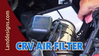 2010 HONDA CRV AIR FILTER REPLACEMENT