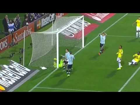 David Ospina incredible double save against Lionel Messi | Argentina vs Colombia Copa America 2015