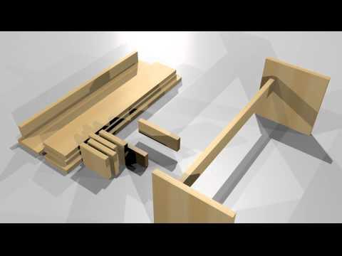 Tuinbank steigerhout zelf maken